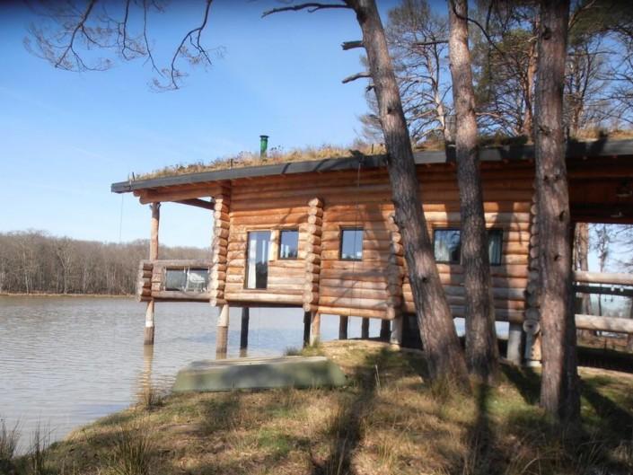 N ologis construction fuste maison bois brut poteau poutre - Maison construction rapide ...