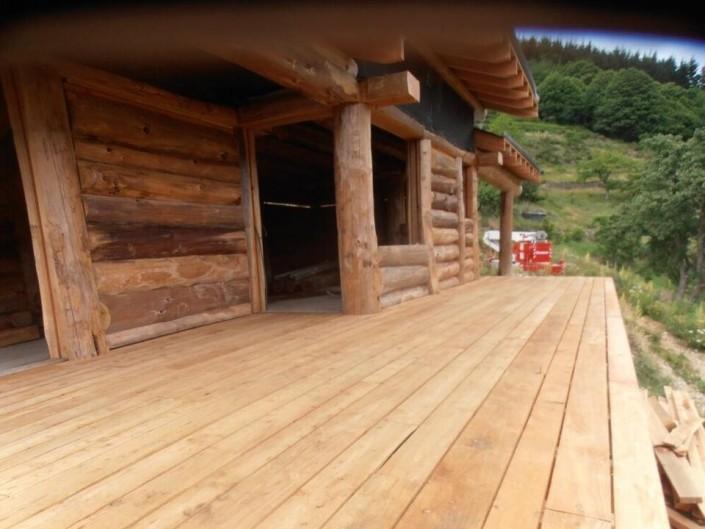 n ologis construction fuste maison bois brut poteau poutre. Black Bedroom Furniture Sets. Home Design Ideas