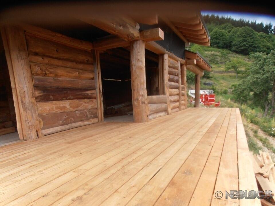 Maison poteaux poutres de 80 m n ologis for Constructeur de maison en bois poteau poutre