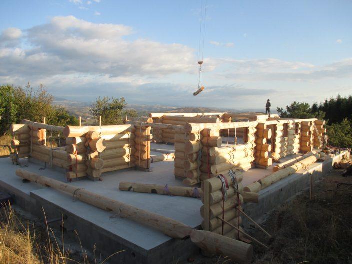 Maison rondins gros bois 5