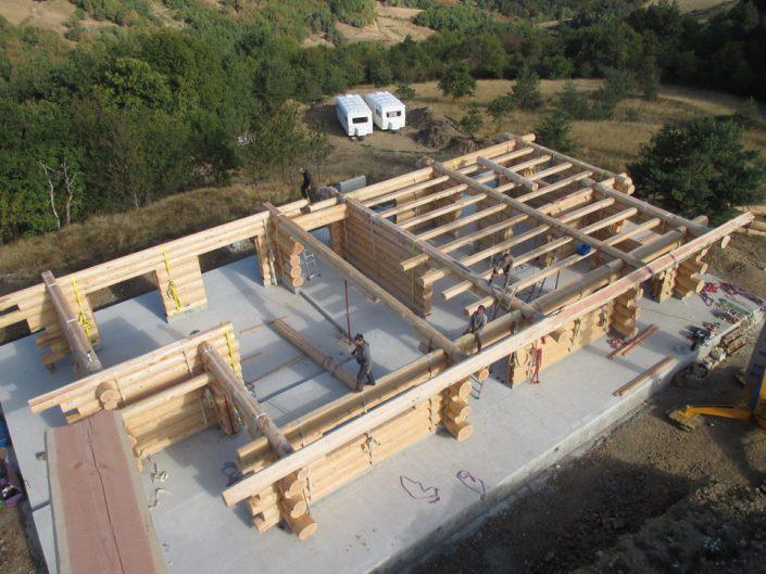 Maison rondins gros bois 14