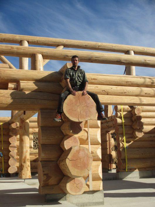 Maison rondins gros bois 19