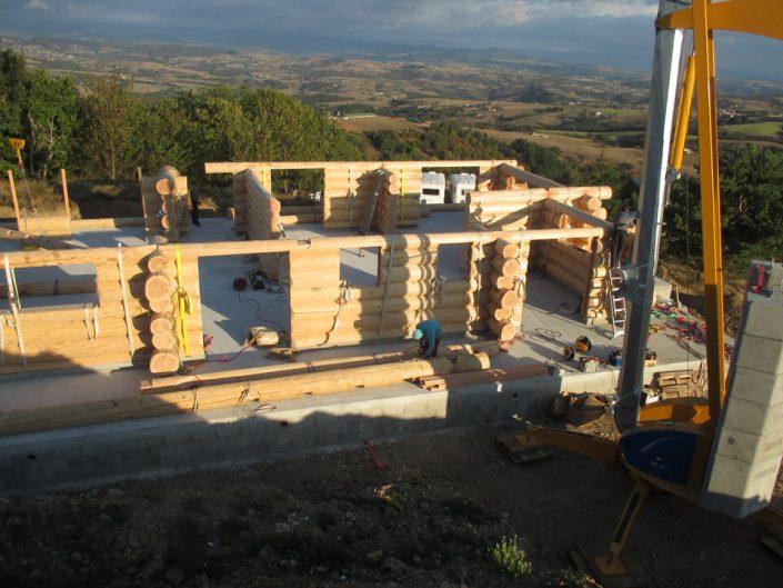 Maison rondins gros bois 4