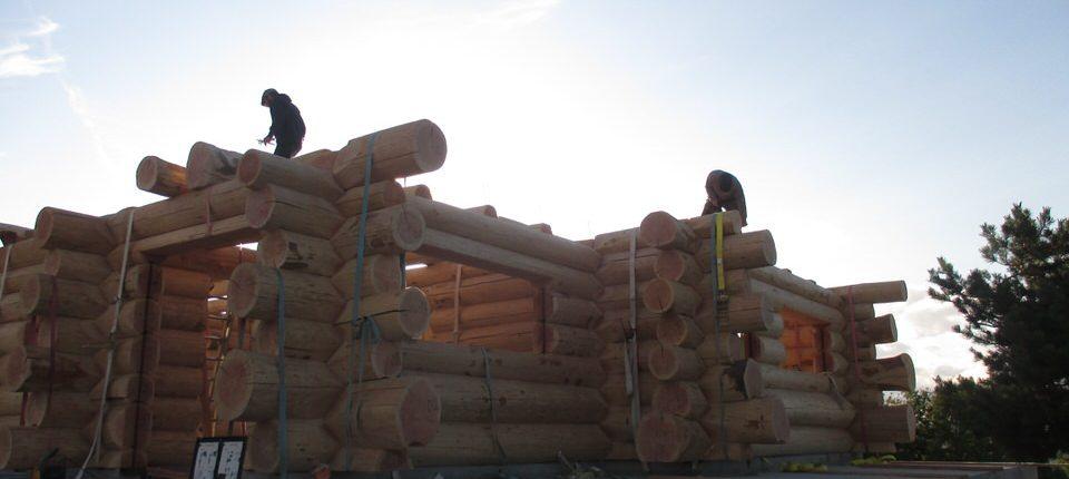 Maison rondins gros bois 12